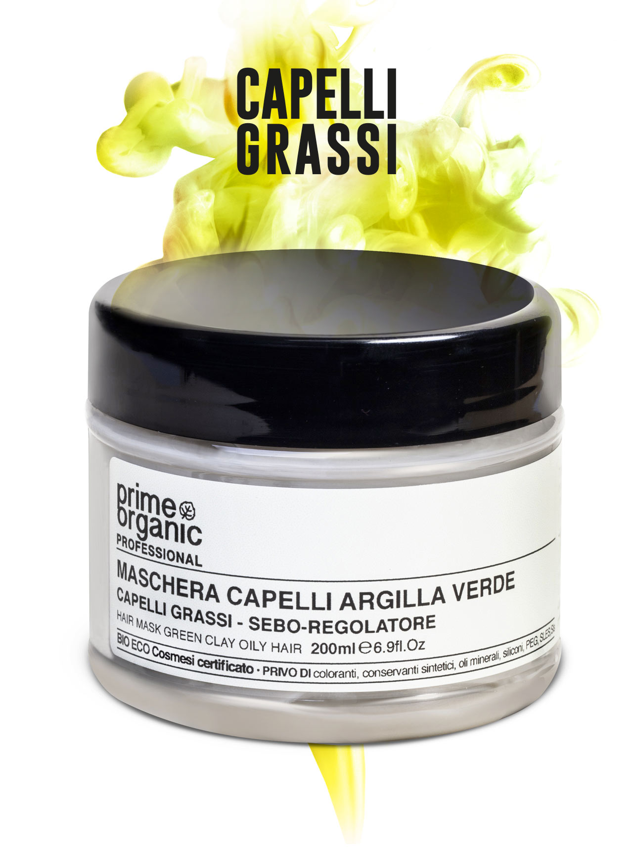 PROFESSIONAL MASCHERA ALL'ARGILLA VERDE 200 ml