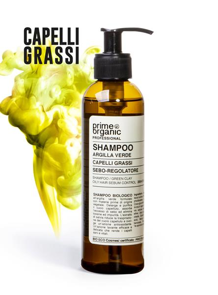 PROFESSIONAL  SHAMPOO ALL'ARGILLA VERDE 250 ml