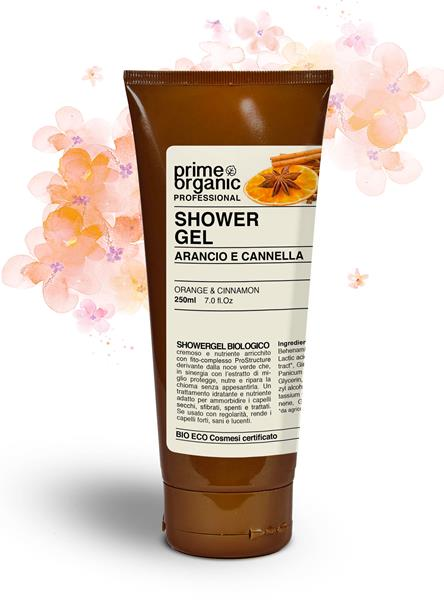 Professional Shower Gel Arancia e Cannella 250 ml